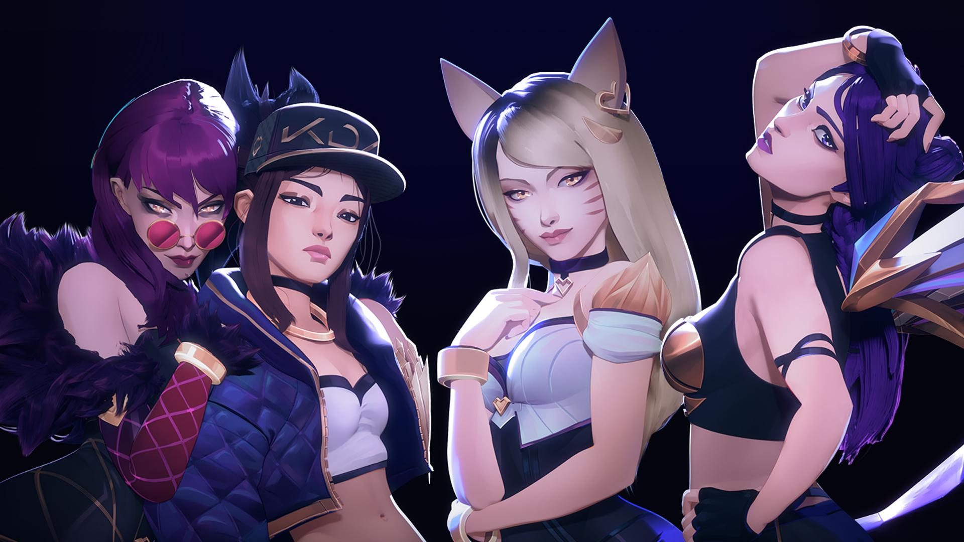 Free Download Kda Stream Overlay And More League Of Legends