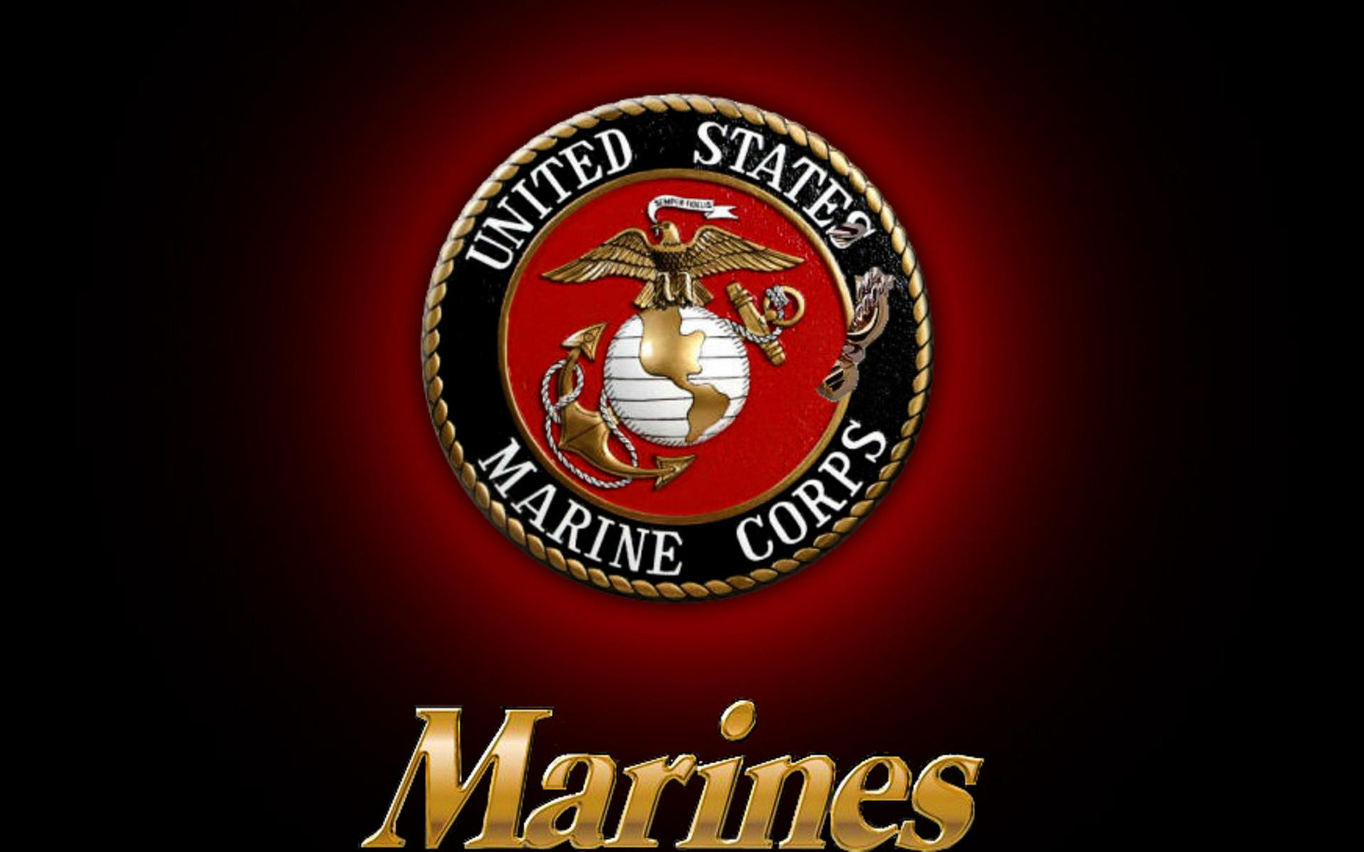 Usmc Logo Wallpaper Wallpapersafari