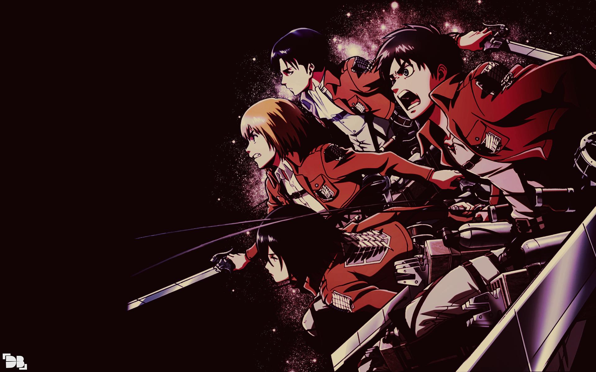 Shingeki no Kyojin Wallpaper 3 by DeathB00K 1920x1200