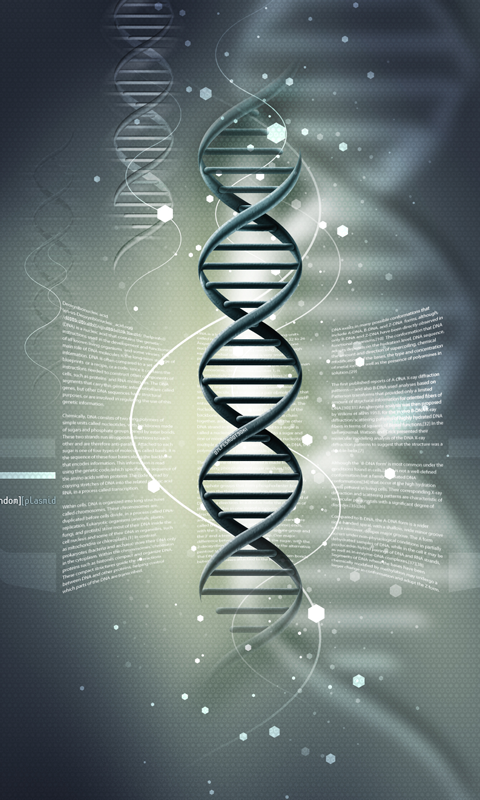 DNA HD Wallpapers Live wallpapers HD for Android software for 480x800