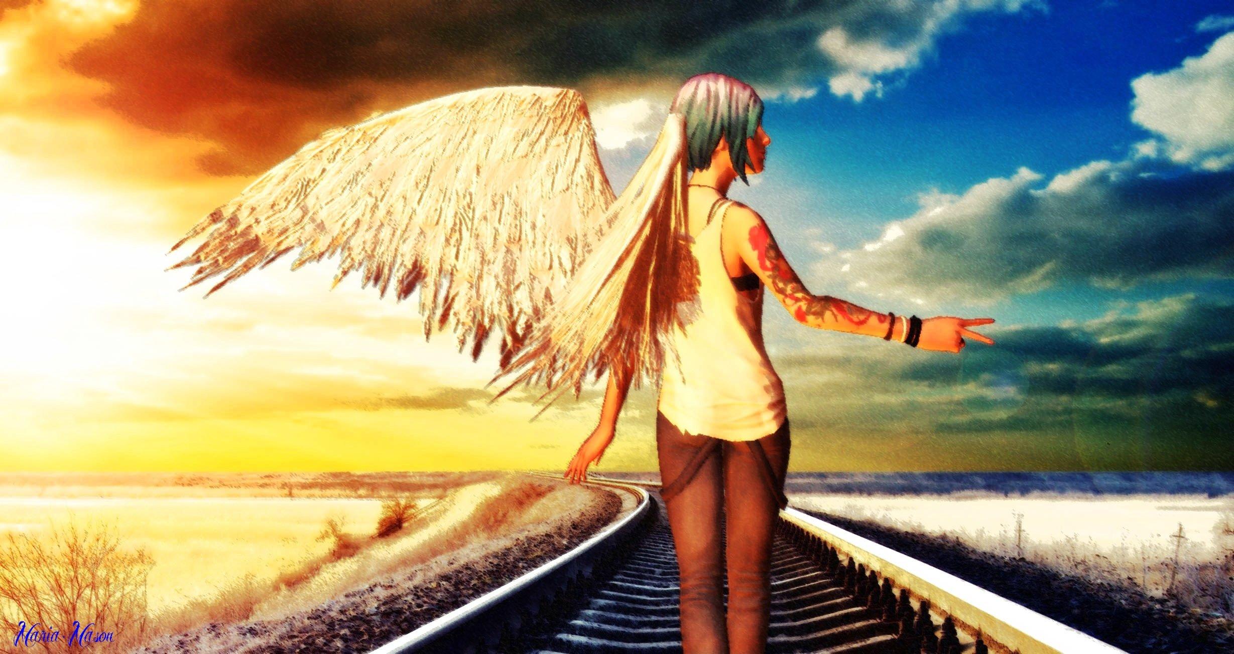 Free Download Life Is Strange Chloe Angel By Marie Mason
