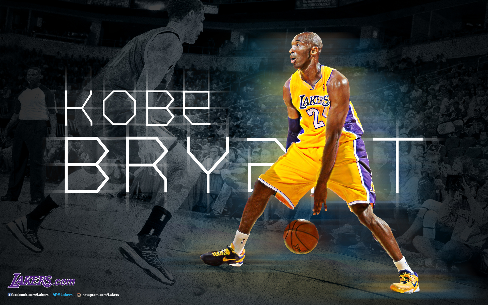 Lakers Desktop Wallpapers THE OFFICIAL SITE OF THE LOS ANGELES 1920x1200
