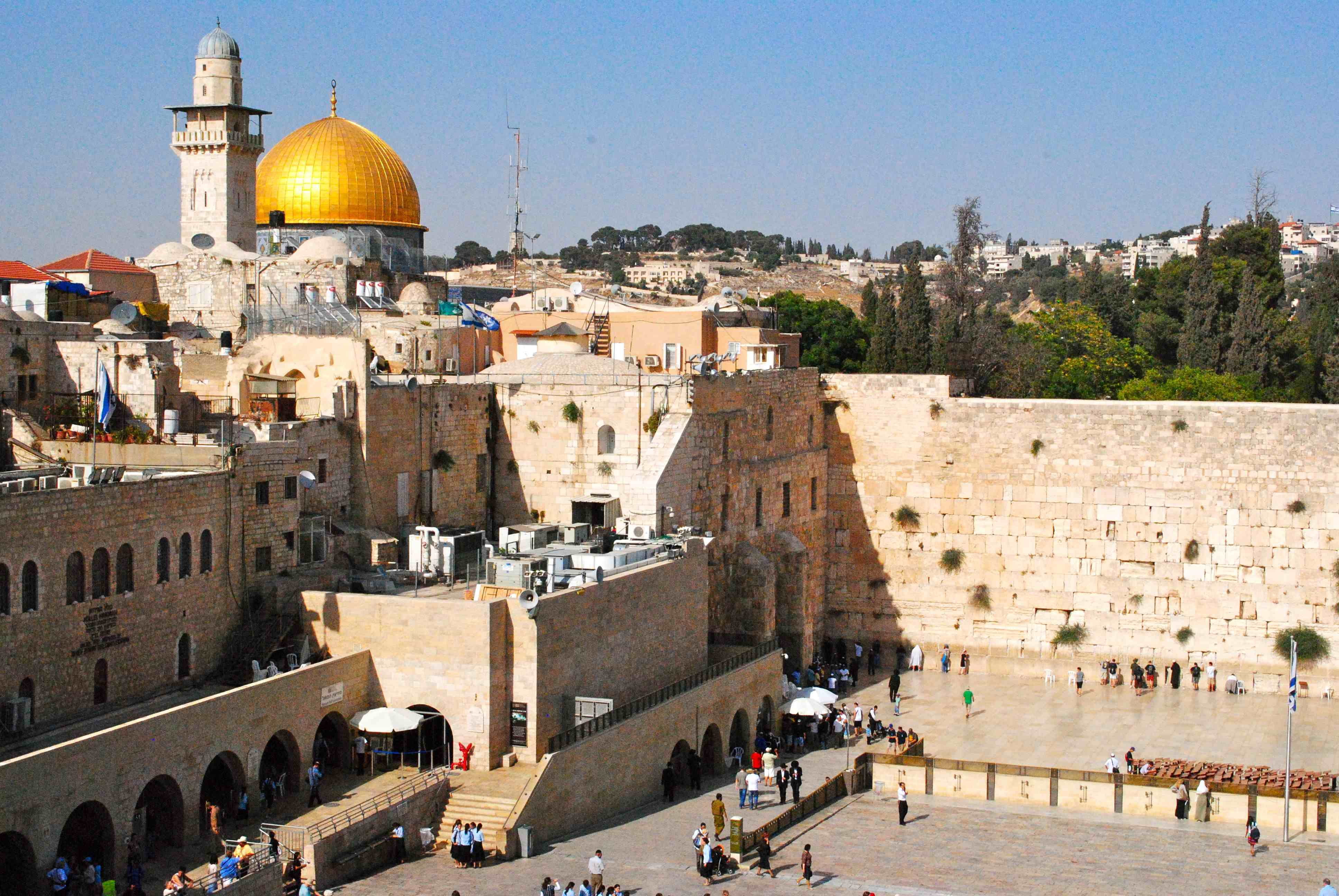 Jerusalem HD Wallpapers 3872x2592