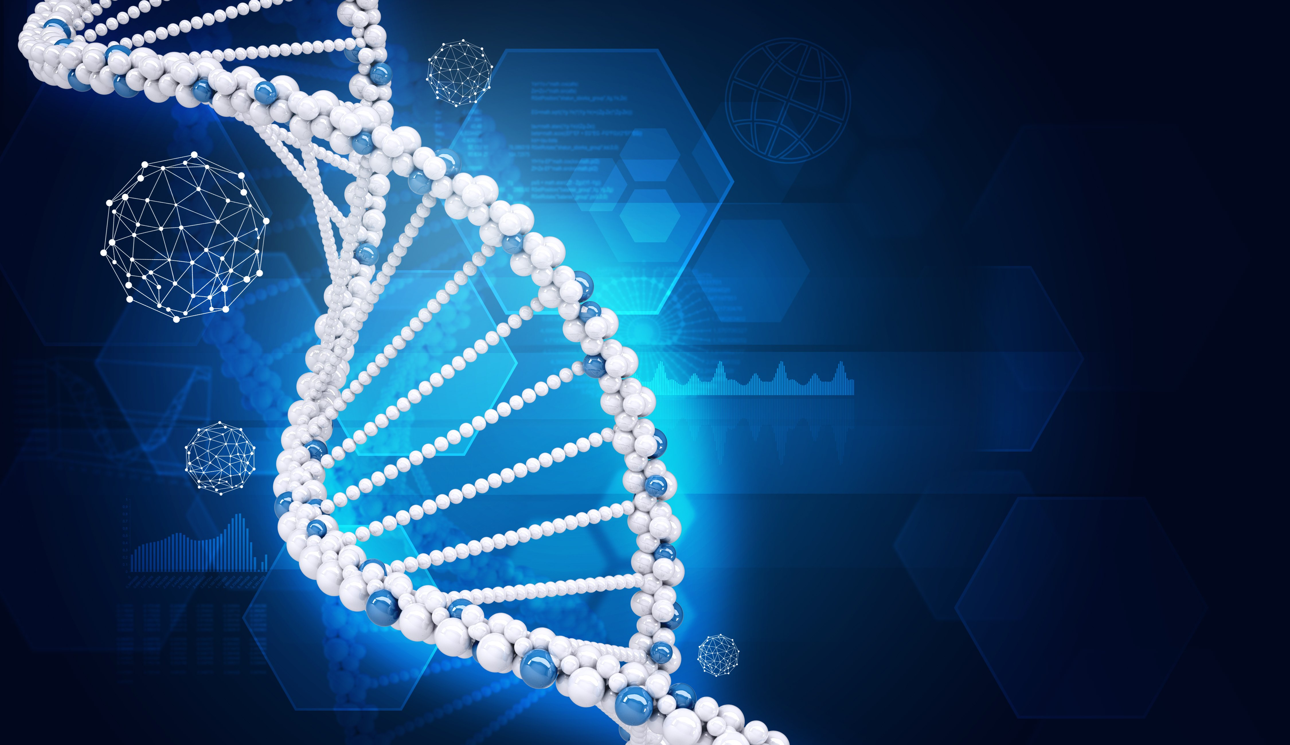 Dna Background   PowerPoint Backgrounds for PowerPoint Templates 4500x2600