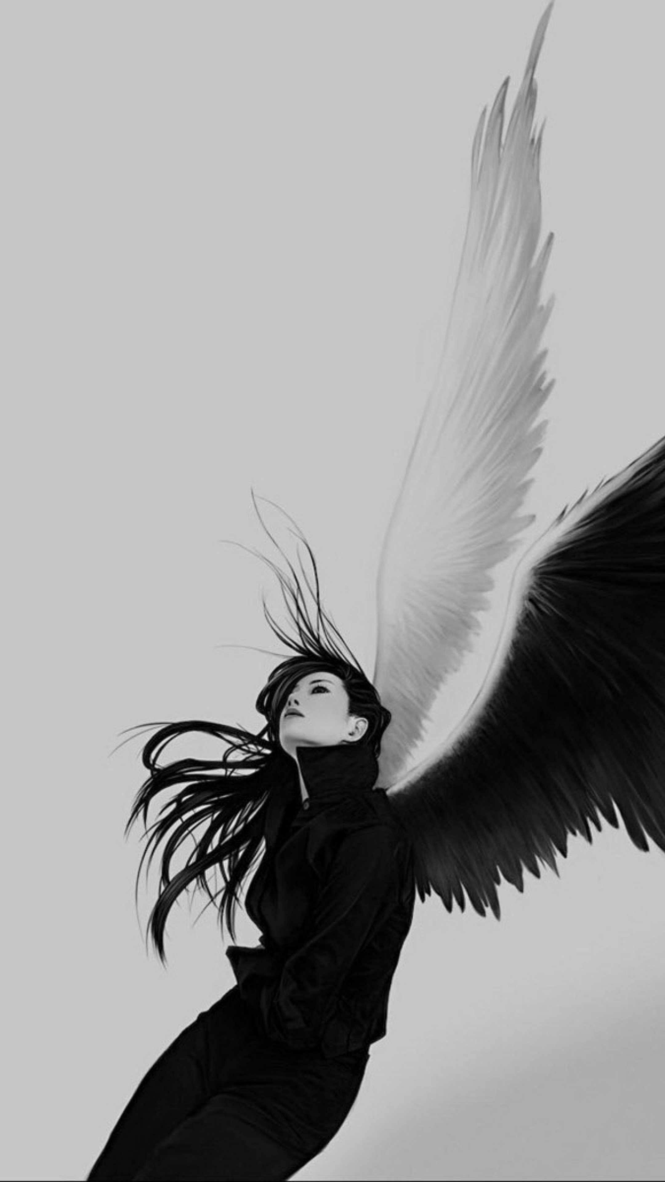 67 Angel Wings Wallpapers on WallpaperPlay 2160x3840