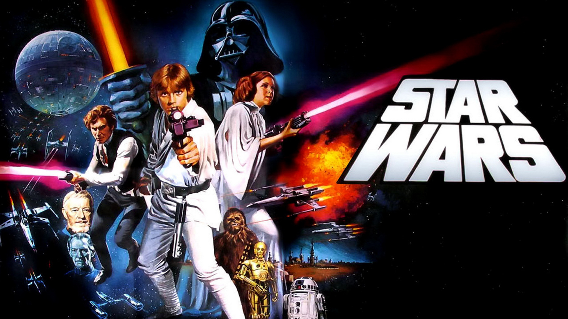 Star Wars Episode IV A New Hope Wallpaper HD 1080p 6 HD Desktop 1920x1080
