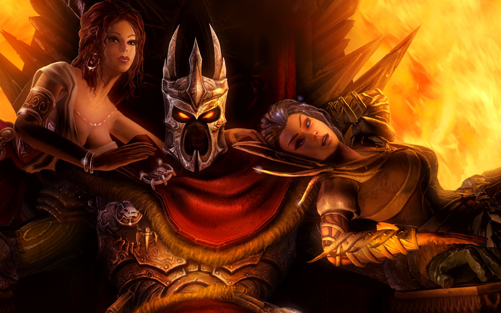 Downaload Overlord King And Warriors Art Wallpaper: Overlord Anime Wallpaper