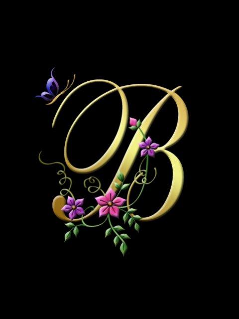 A Alphabet Wallpaper For Mobile Letter B Wallpa...