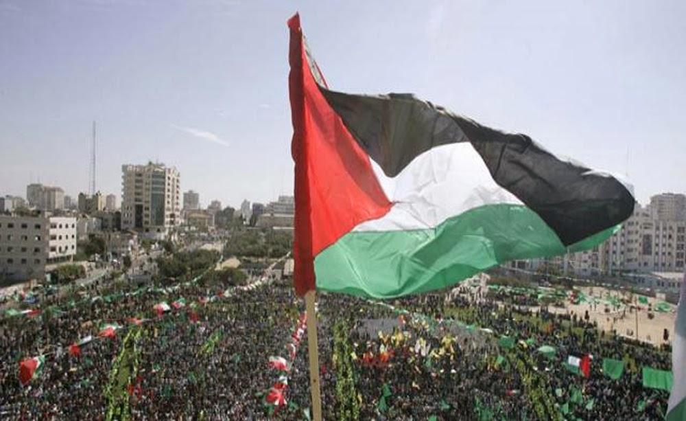 Palestineflagwavinginpalestiniancityjpg 1000x613