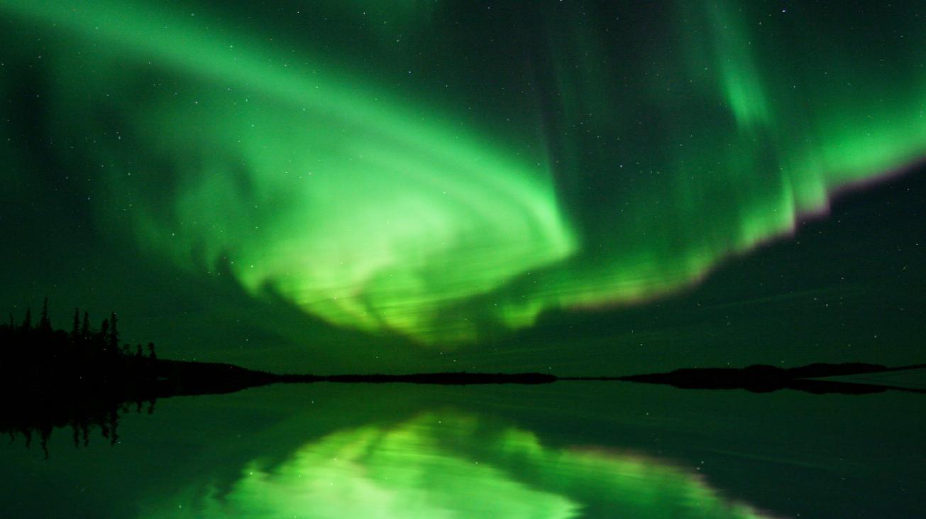 Direct Download Beautiful Aurora Boreal Animated Wallpaper 1305x731