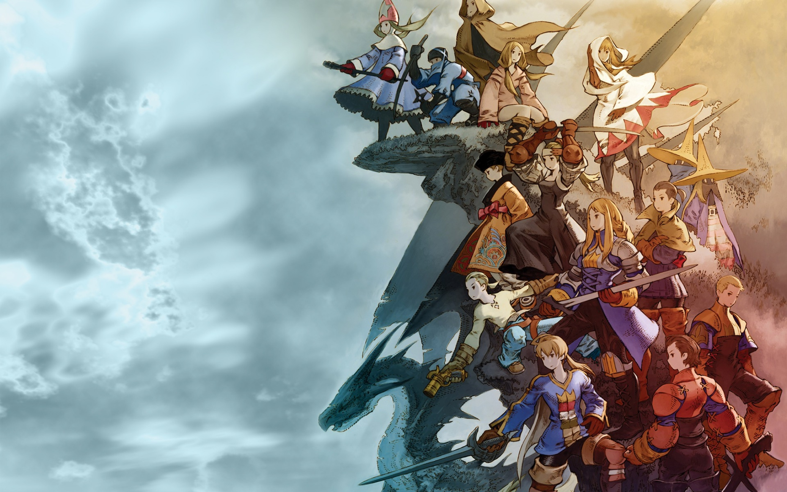 final fantasy wallpaper Final Fantasy Tactics 2560x1600