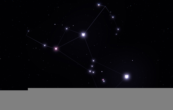 Wallpaper orion constellation stars space wallpapers space 596x380