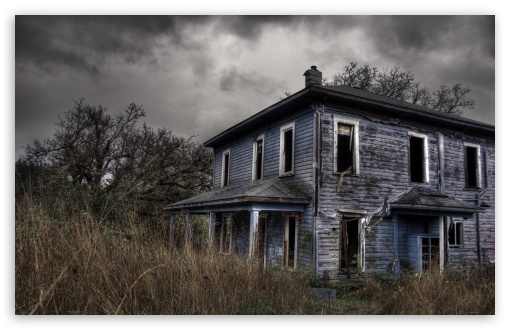 Haunted House HD wallpaper for Standard 43 54 Fullscreen UXGA XGA 510x330