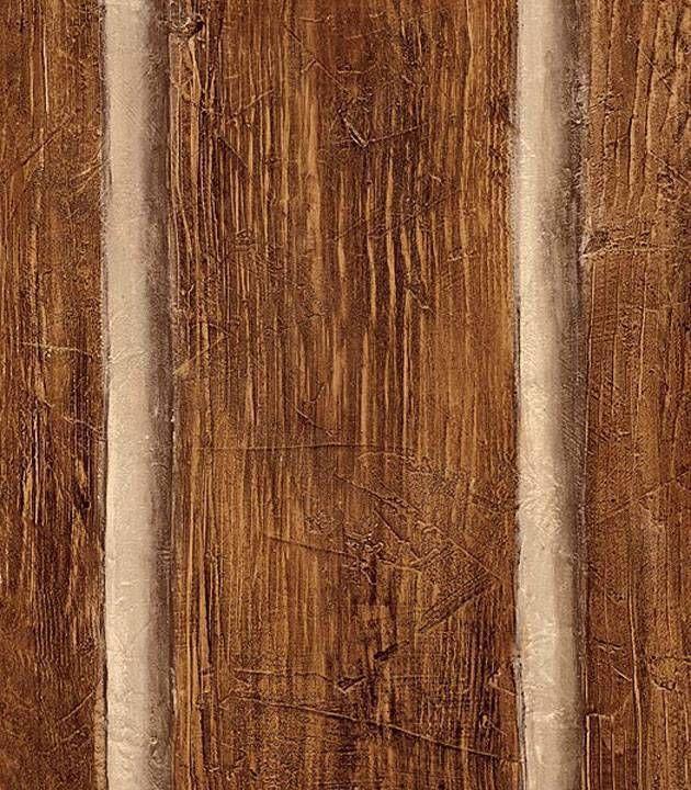 comitmWallpaper Faux Rustic Logs Cabin Wood Planks Log Wall Wooden 630x720