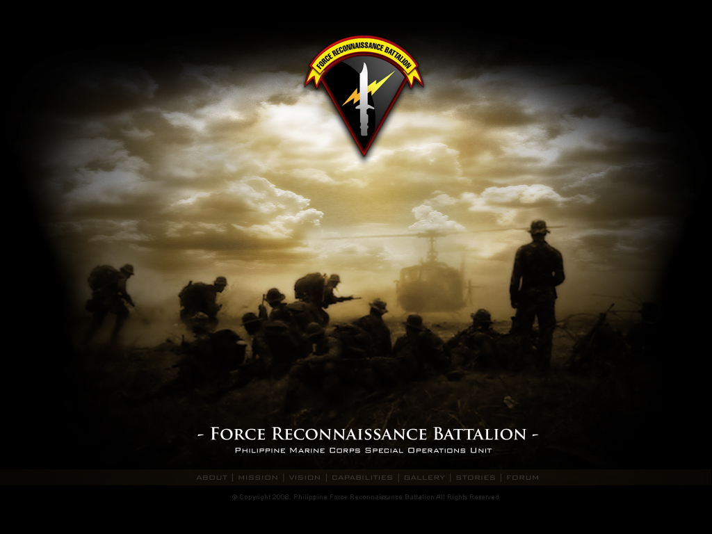 Marine Corps Force Recon Logo Wallpaper Force recon website by 1024x768