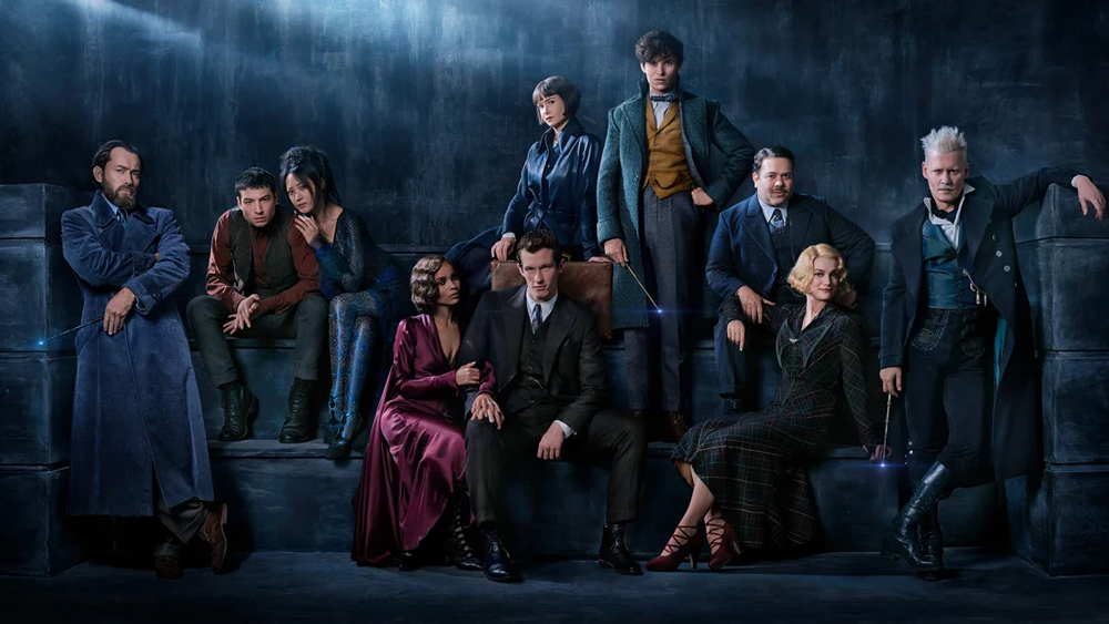 Fantastic Beasts Crimes of Grindelwald Photos Jude Law Johnny 1000x563