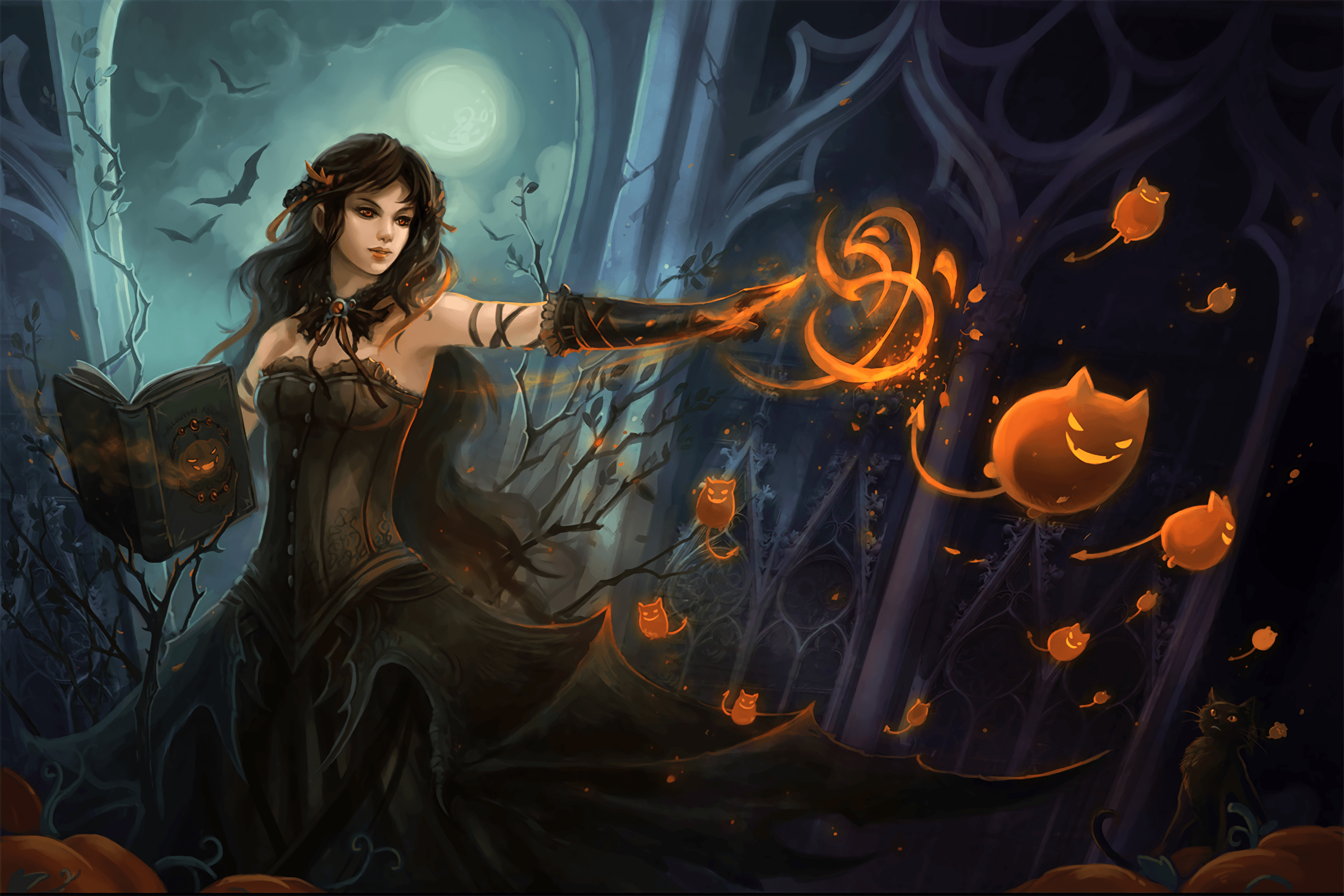 Witch Wallpapers   Top Witch Backgrounds   WallpaperAccess 2400x1600