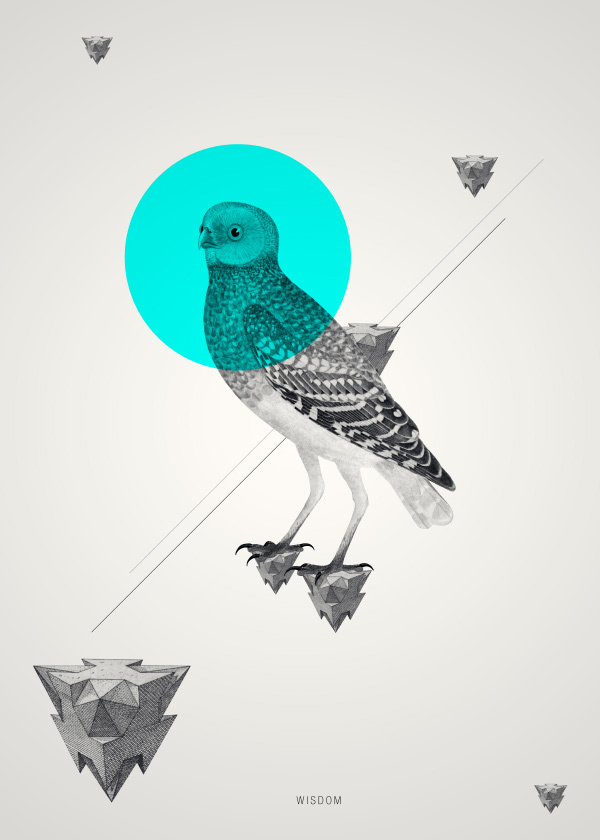 Geometric Animal Wallpaper The Art Mad Wallpapers 600x840