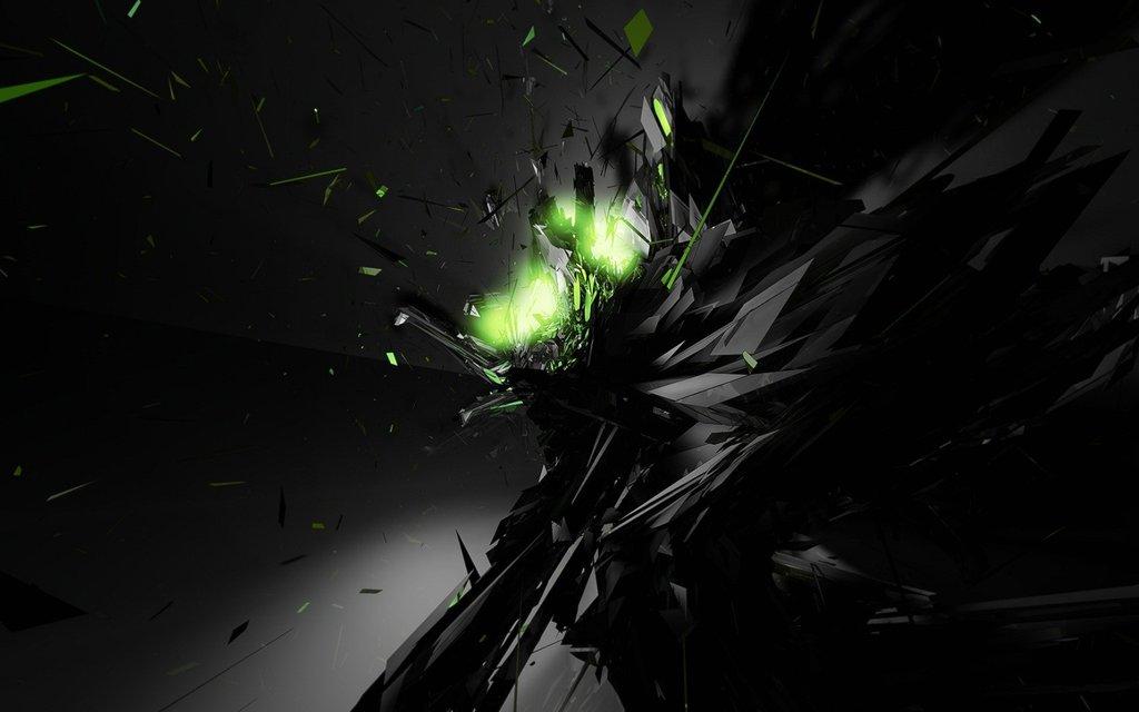 neon green wallpaper iphone