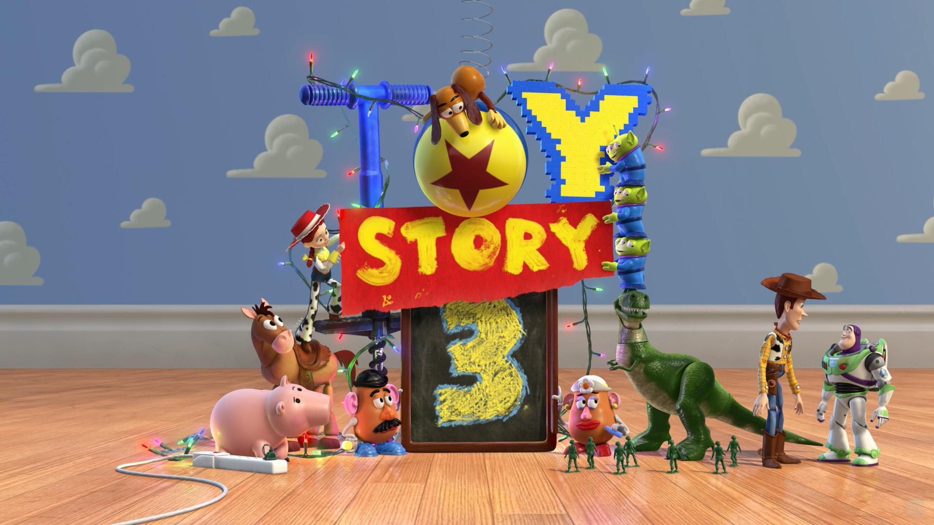 Toy Story 3 Alien Cookies 1920x1080
