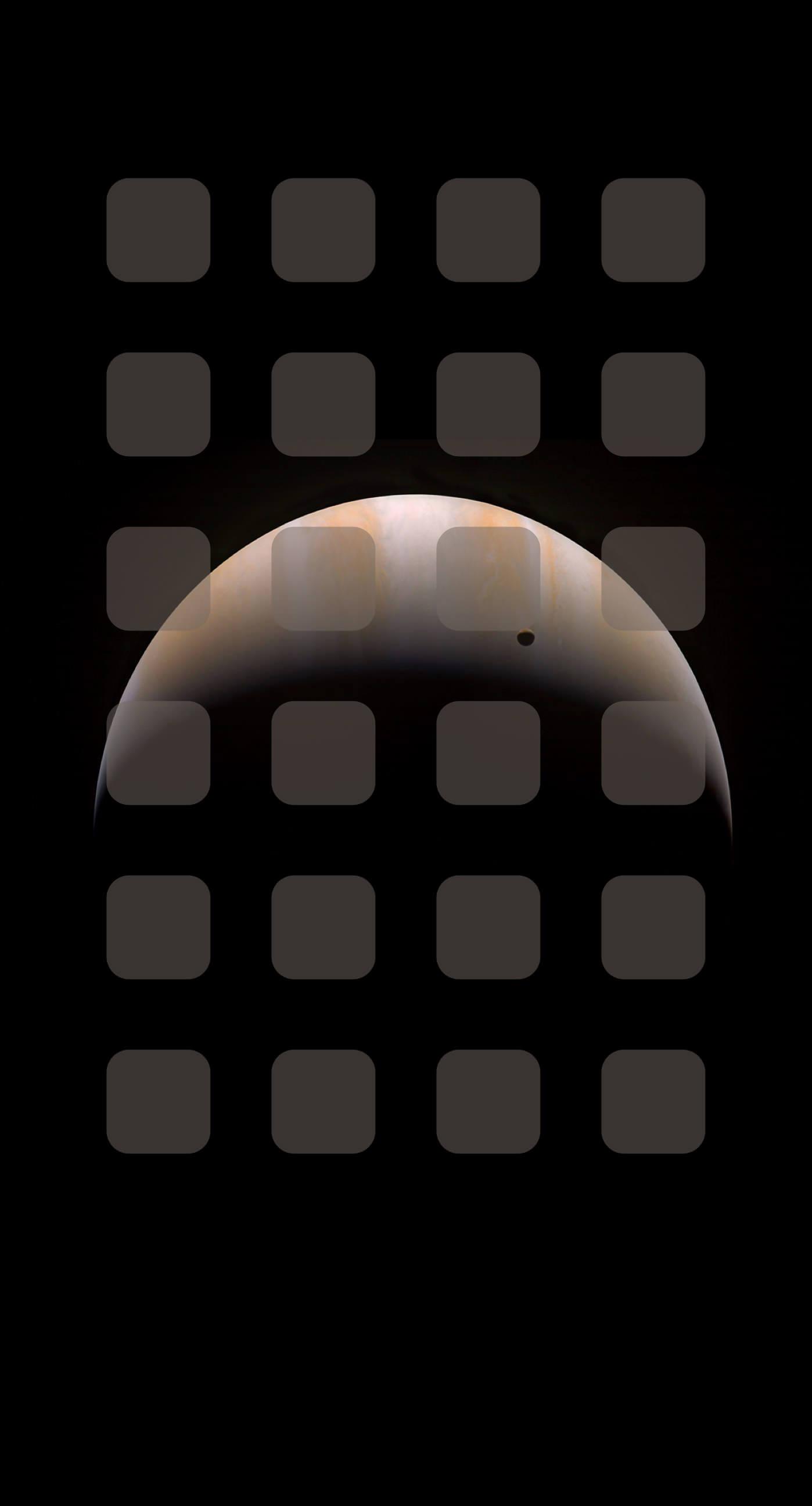 Space planet brown shelf wallpapersc iPhone7Plus 1398x2592
