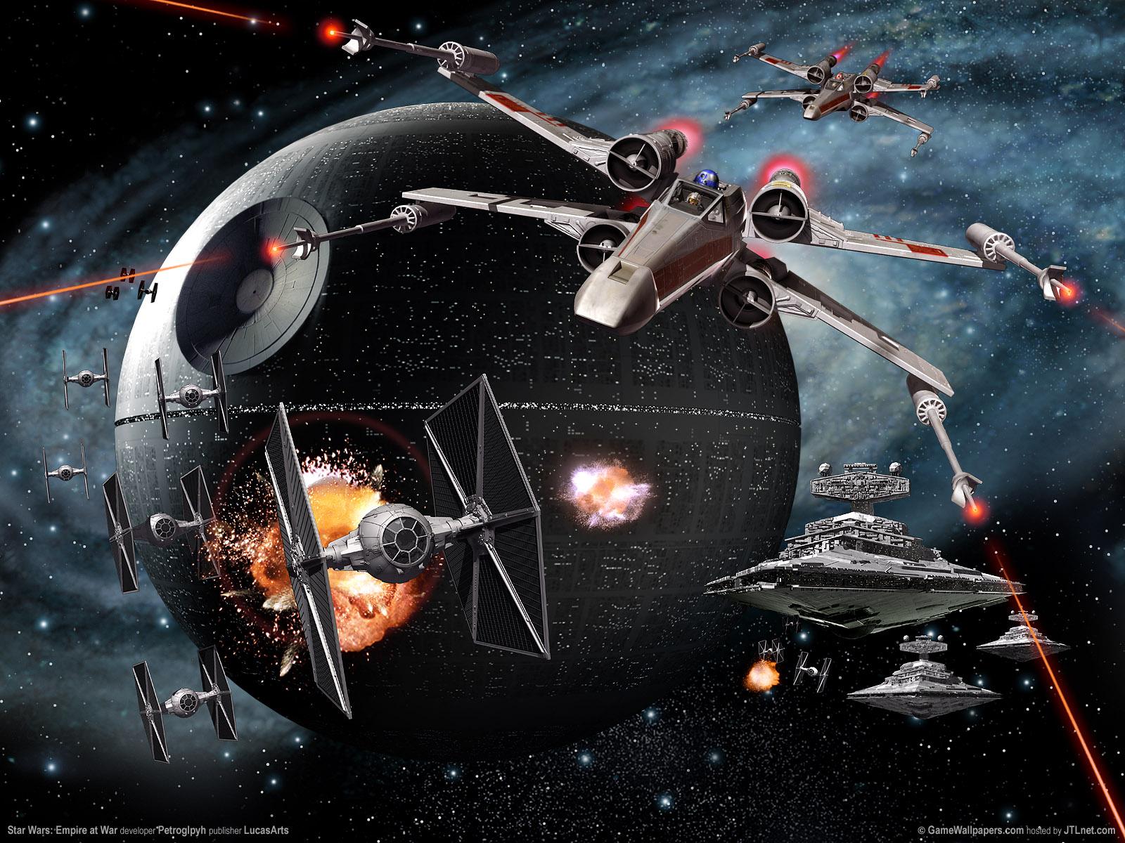 48 Desktop Wallpaper Star Wars On Wallpapersafari