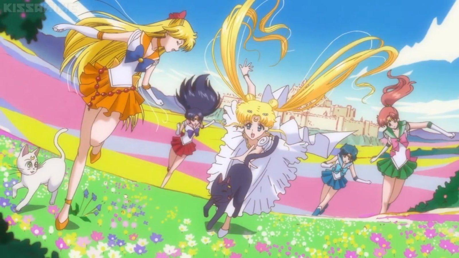 44 Sailor Moon Group Wallpaper On Wallpapersafari