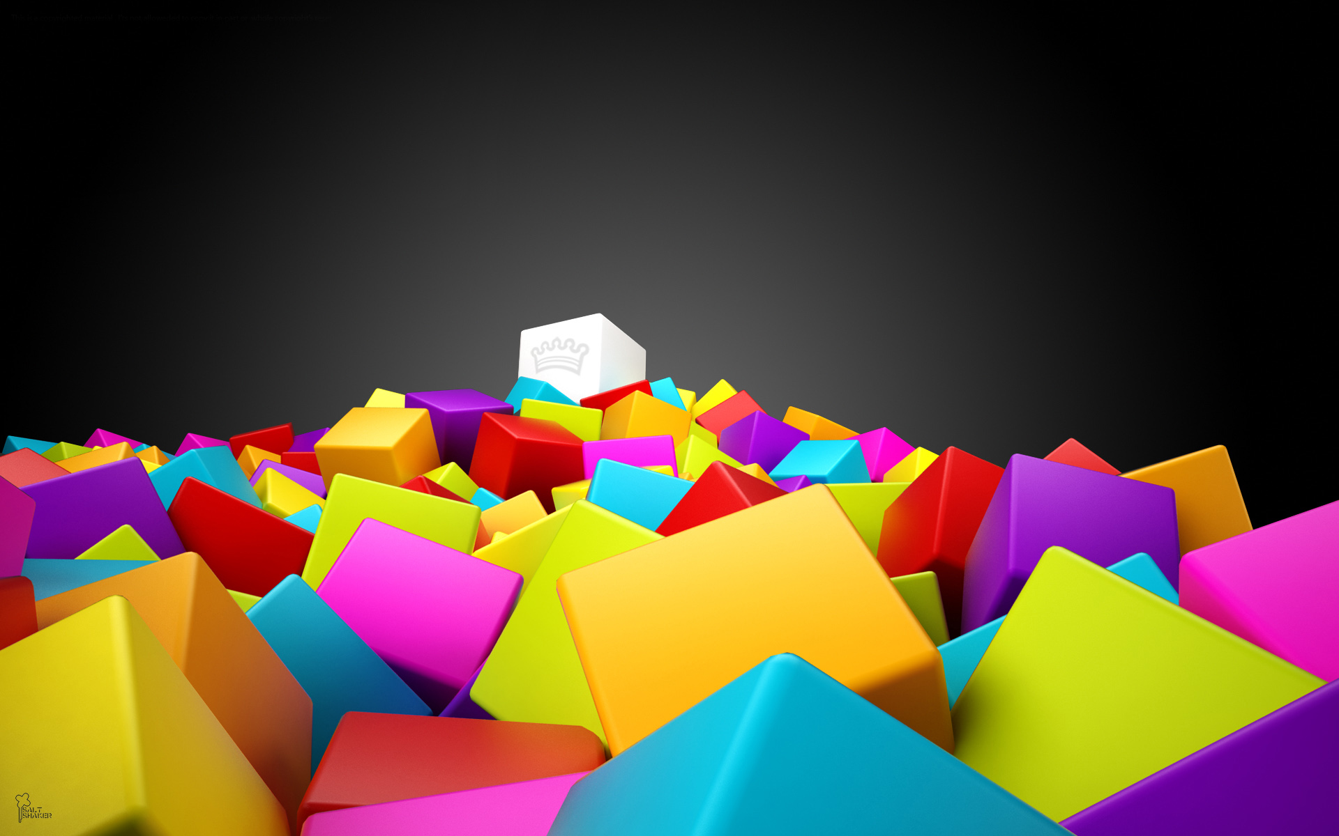 wallpaper abstract cube colorfull colorful squares walls 1920x1200