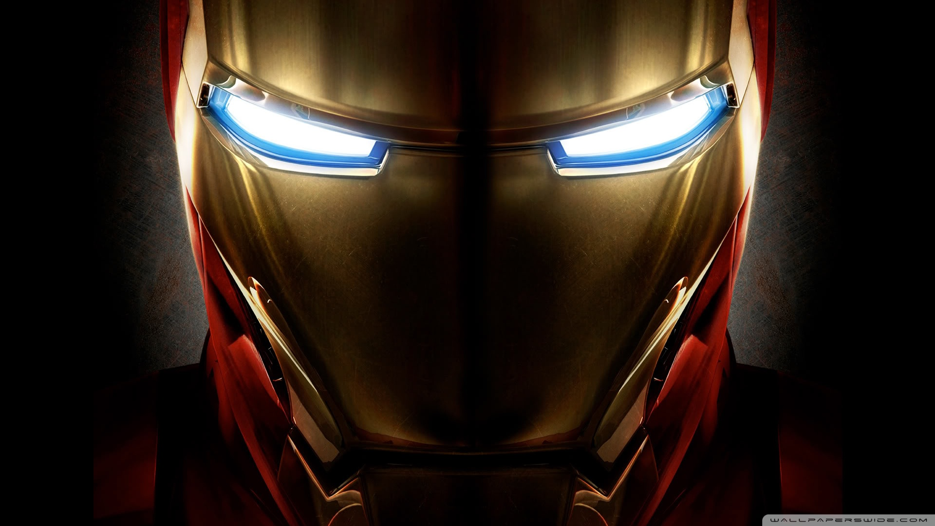 Iron Man Helmet HD Wallpaper Desktop Movie 1920x1080