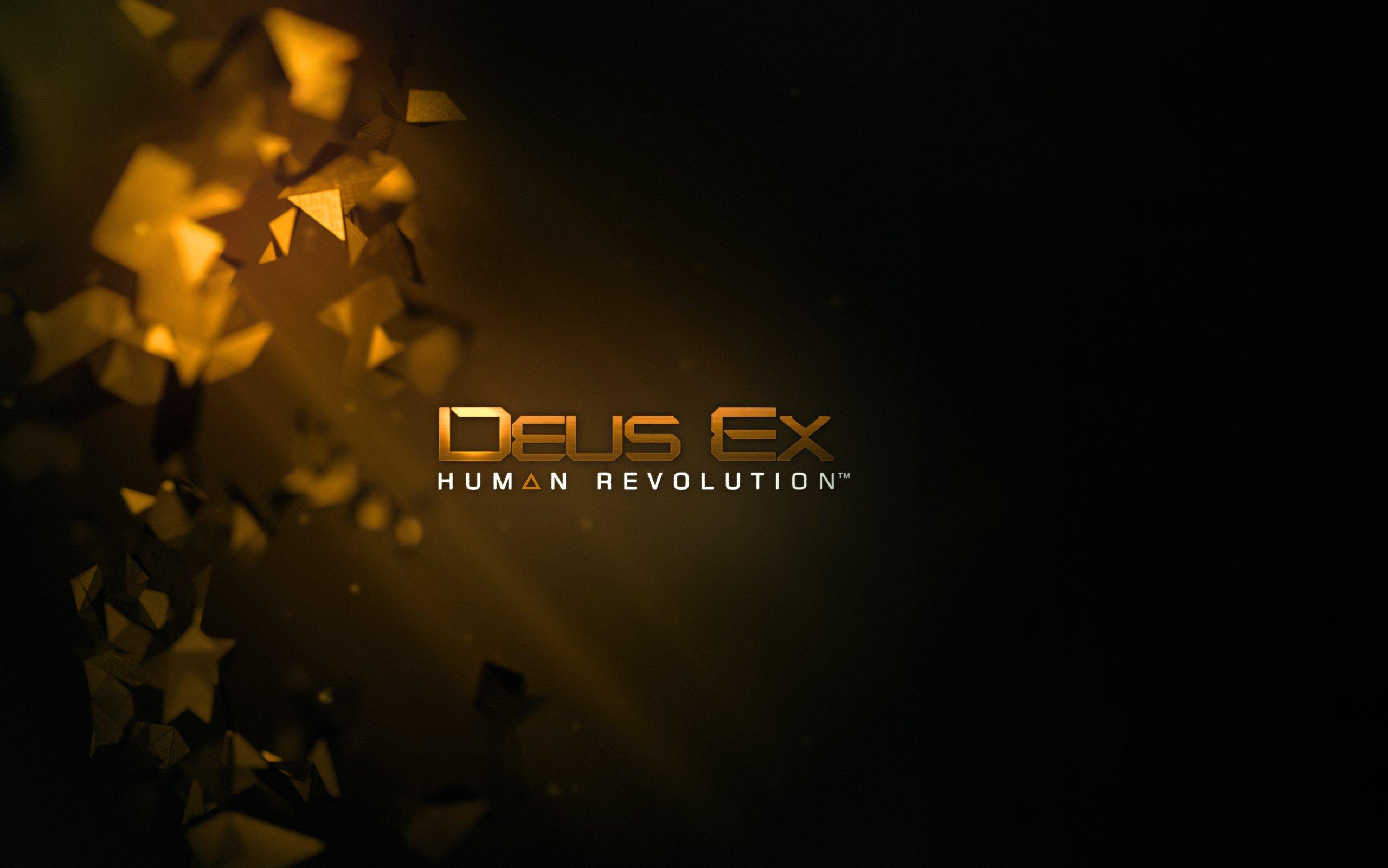 Deus Ex Human Revolution Computer Wallpapers Desktop 2560x1600