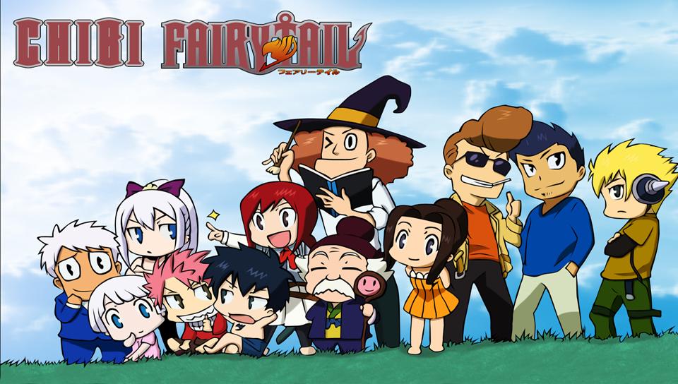 Chibi Fairy Tail PS Vita Wallpapers   PS Vita Themes and 960x544