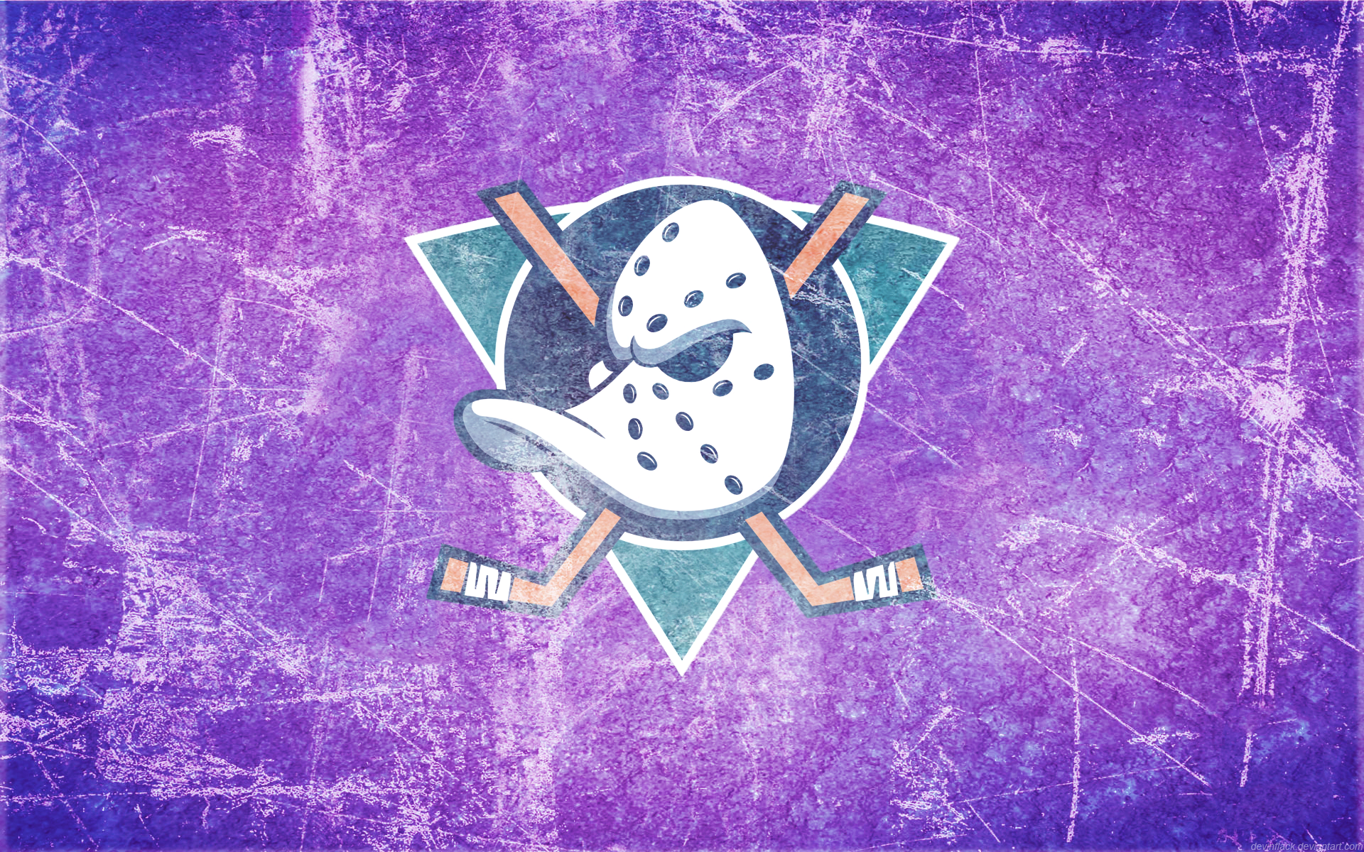 Mighty Ducks Ice Wallpaper by DevinFlack 1920x1200