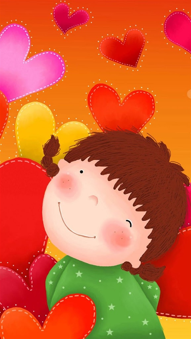 Cute Girl Top iPhone 5 Wallpaperscom 640x1136