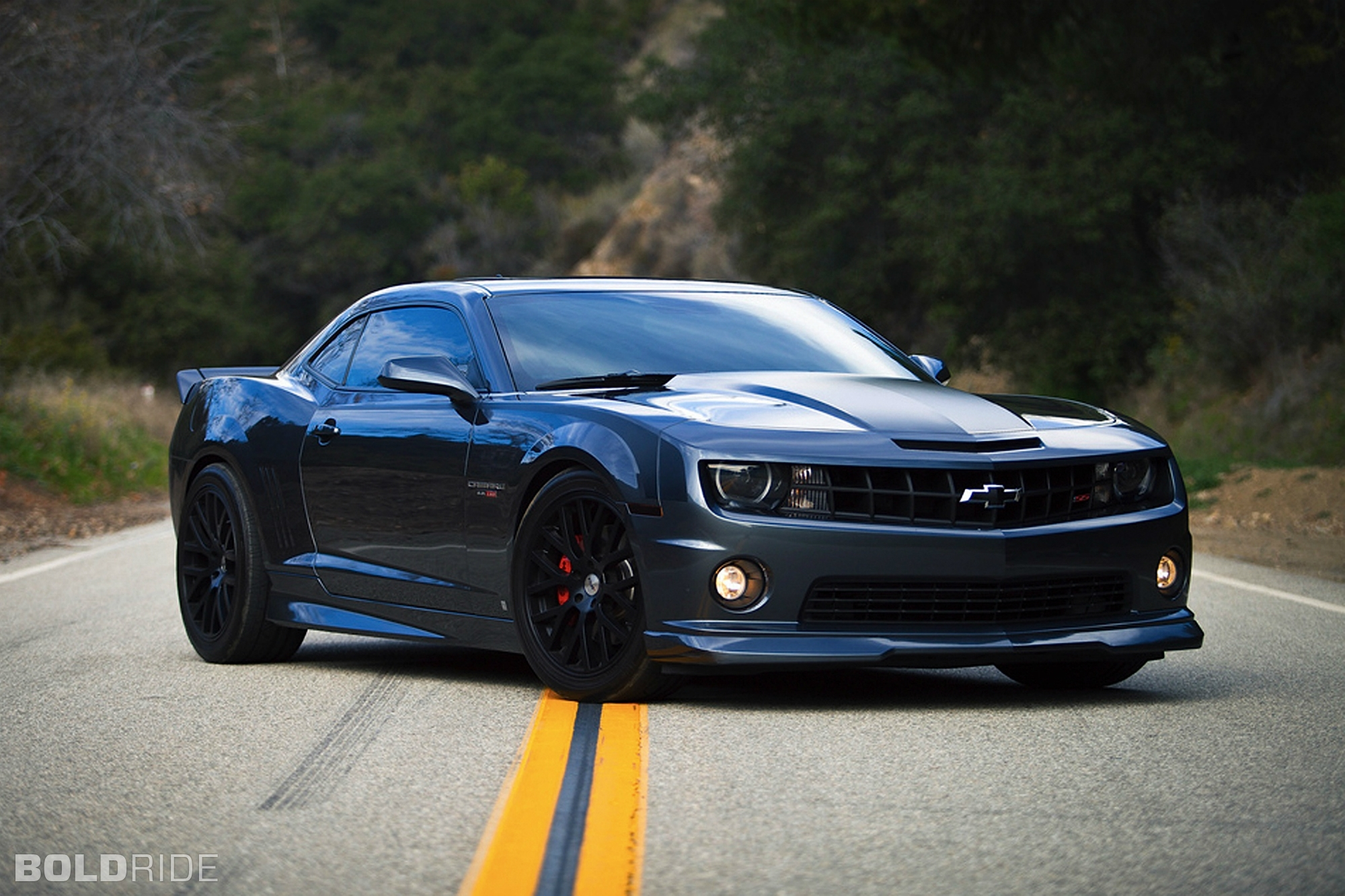 2010 Chevrolet Camaro Ss tuning muscle cars roads wallpaper background 2000x1333