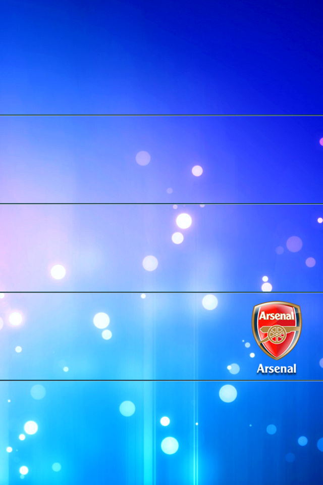 Arsenal Blue creative designs wallpaper for iPhone download 640x960