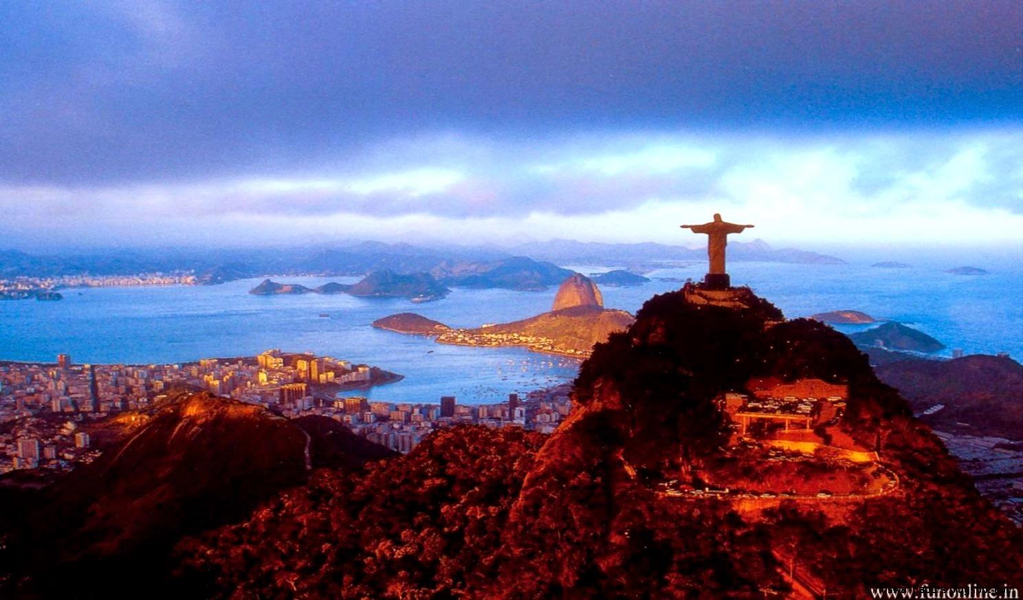 Rio De Janeiro Sunset Wallpaper Photos All HD Wallpapers 1488x873
