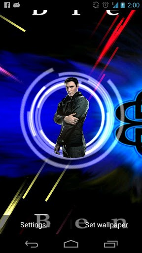 Breaking Benjamin LWP App for Android 288x512