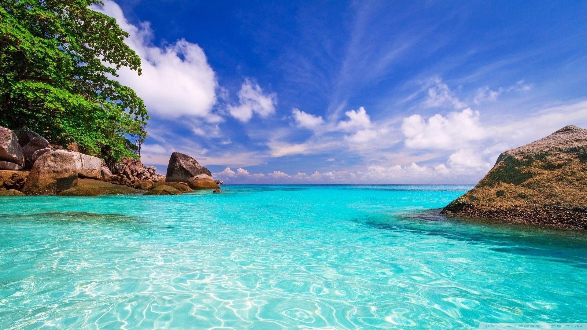 Ocean and Beach Wallpapers   Top Ocean and Beach Backgrounds 1920x1080