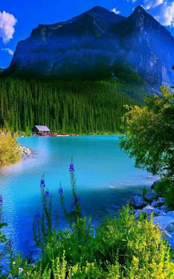 Mountain retreat Beautiful landscapes Beautiful nature 598x960