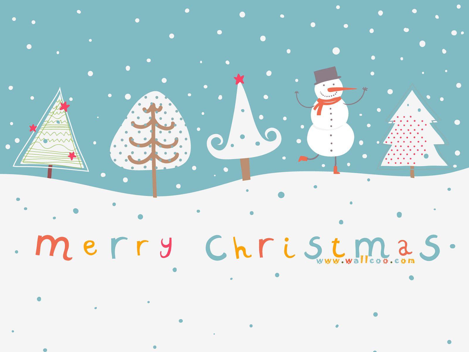 56 Christmas Desktop Cute Wallpapers On Wallpapersafari