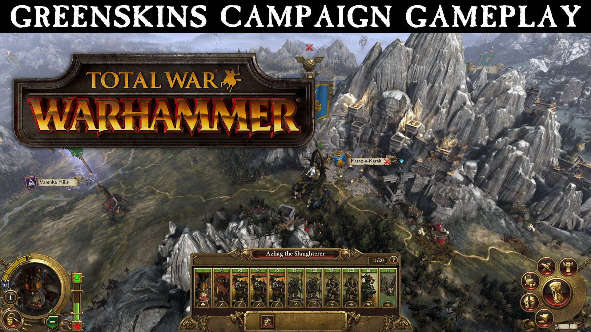 Total War Warhammer Greenskins Campaign TrailerVideo Game News 1920x1080