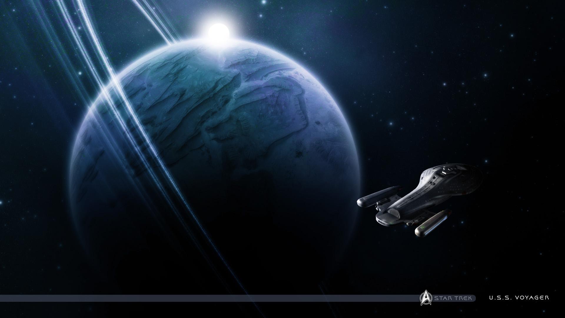 Star trek voyager spacecraft - Star Trek Voyager Wallpaper 166358