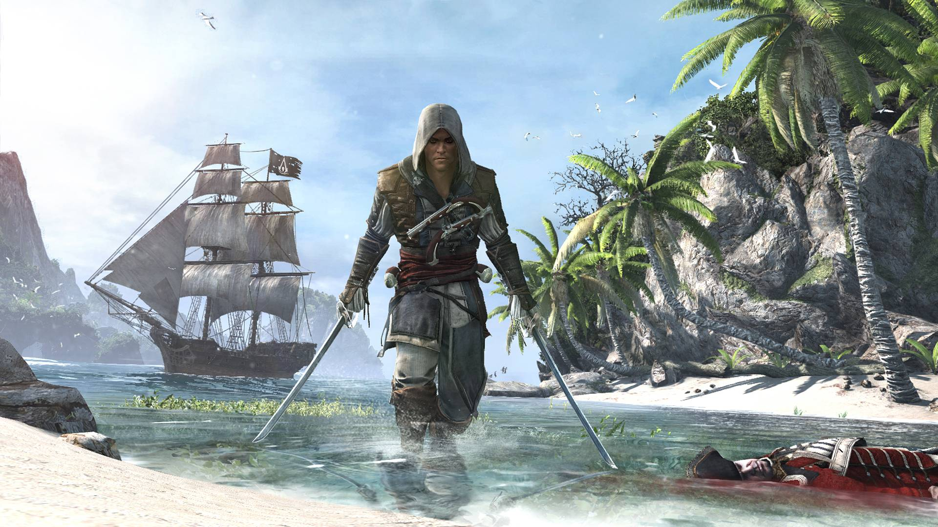 Free Download Ac4 Black Flag Wallpapers 1920x1080 For Your