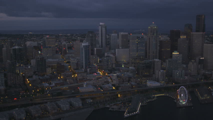 Puget Sound Seattle Pacific Northwest USA RED EPIC 4K UHD Ultra 852x480