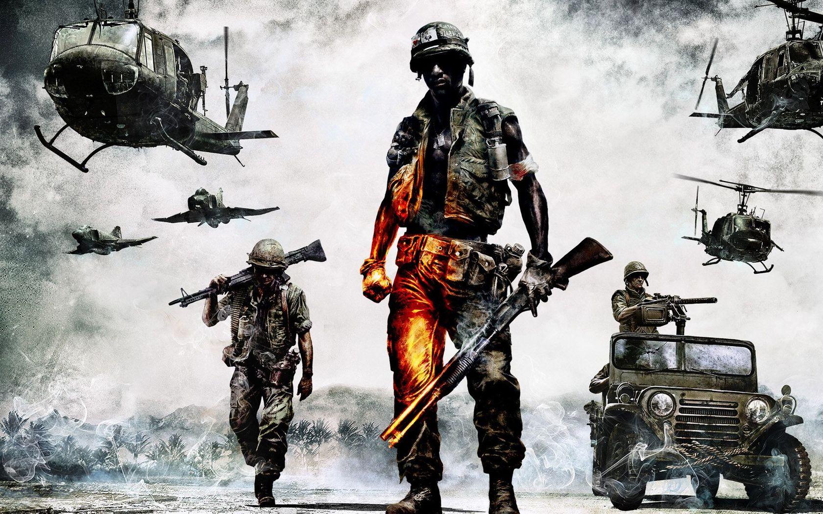 Download Battlefield   Bad Company 2 wallpaper 1680x1050