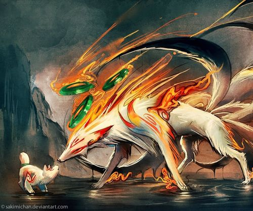 Tailed Beasts Wallpapers: Nine Tails Wallpaper