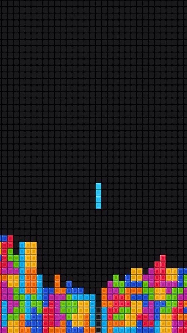 Tetris wallpaper iPhone Wallpapers in 2019 Iphone 5 wallpaper 640x1136