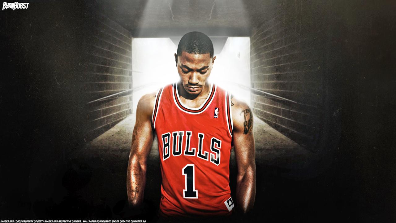 Derrick Rose Logo Wallpapers 1280x720
