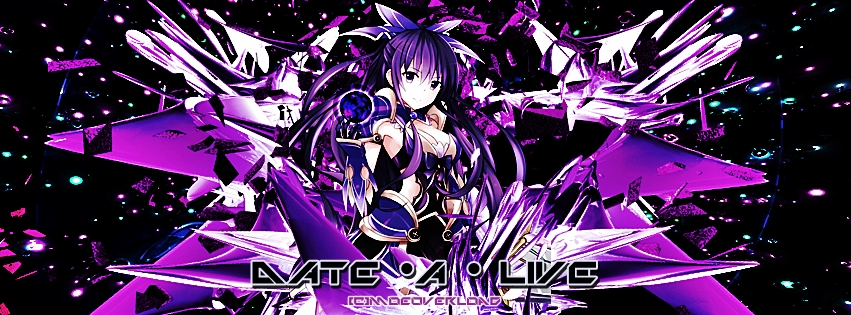 Date A Live images Tohka wallpaper and background photos 851x315