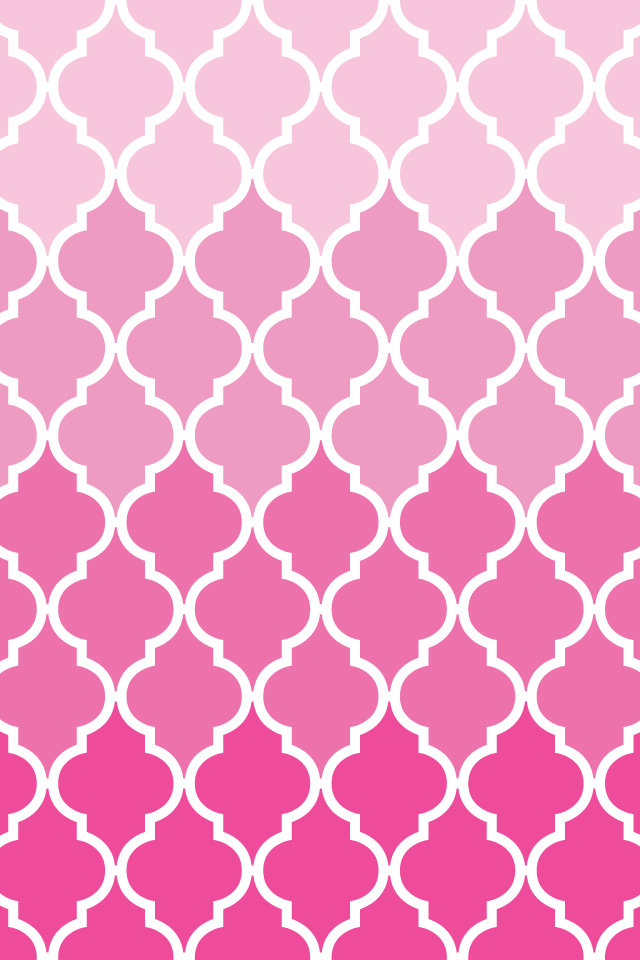 Make itCreate  Printables BackgroundsWallpapers Quatrefoil 640x960